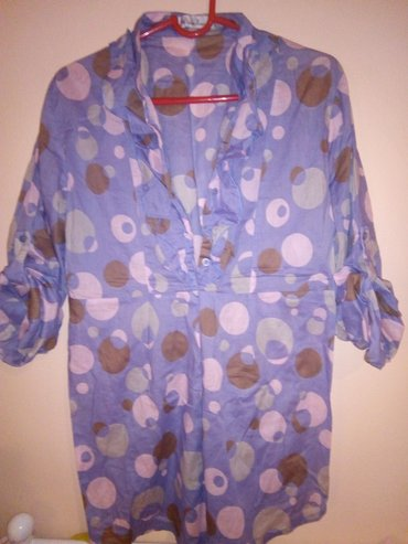 Zenska bluza - tunika. Od veoma prijatnog, tankog materijala, idealan - Kula
