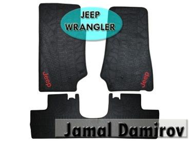 Bakı şəhərində Jeep Wrangler üçün silikon ayaqaltilar .