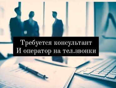 уаз продажа в Кыргызстан: Требуется Консультант и Оператор на тел.звонкиОпыт не имеет