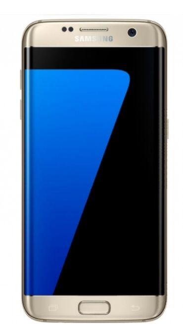 s 6 edge - Azərbaycan: Samsung Galaxy S7 Edge | 32 GB | Qızılı | Barmaq izi