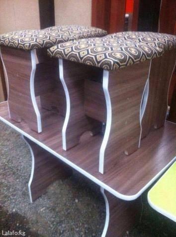 продаю стол и стуля в Лебединовка