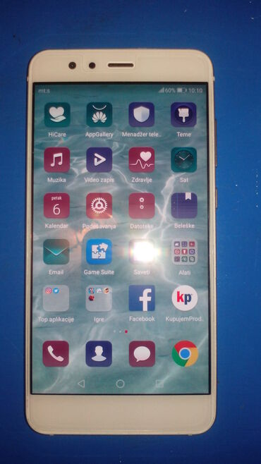 Huawei ets 878 - Srbija: Odlicno stanje, sim free uz telefon tempered glas i silikonska obloga