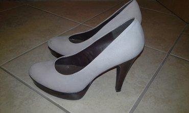 Zenske bata cipele, broj 39. Sivo braon boje, dobro ocuvane..... - Gornji Milanovac