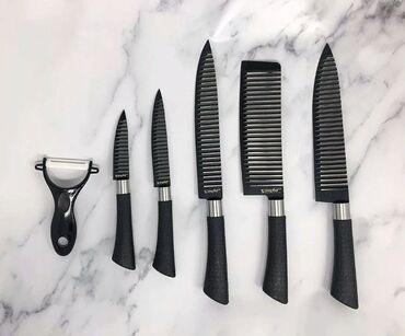 stolovyj nabor zepter na 12 person в Кыргызстан: Набор ножей zepter 6 pcs knife setНожи в наборе Zepter обладают