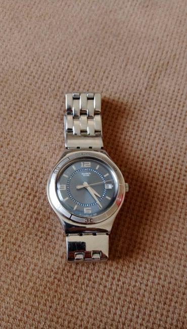 Bakı şəhərində Kişi Gümüşü Klassik Qol saatı Swatch