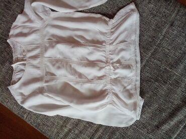 Dečiji Topići I Majice | Nova Pazova: Divna bela košulja H&M vel 7/8 u odličnom stanju bez ikakvih