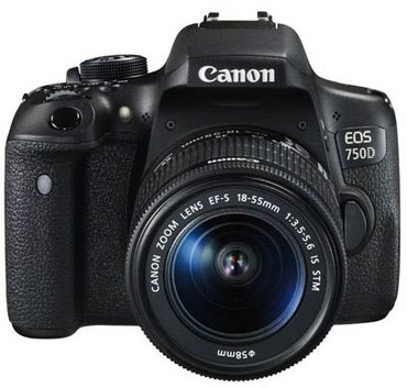 Canon EOS 750D 18-55mm IS STM в Bakı