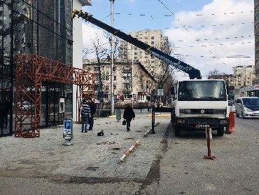 Услуг крана манипулятора - Кыргызстан: Кран МанипуляторГрузоподъемность 3т.Вылет стрелы в 14,5м. В