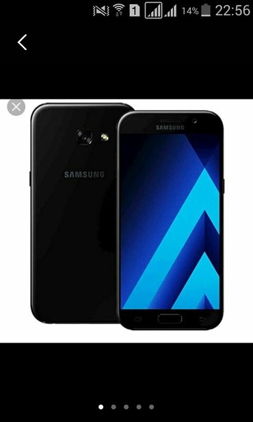 Автомобиль audi a5 - Кыргызстан: Б/у Samsung Galaxy A5 2017 32 ГБ Черный