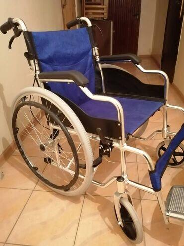 Инвалидные коляски - Кыргызстан: Инвалидная коляска. Новая.Коляска для инвалидов взрослая. Двойной