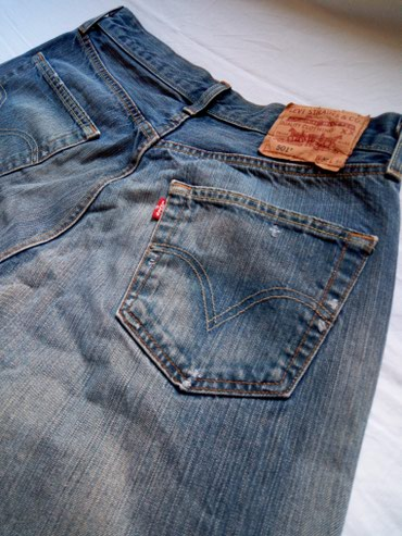 Levis 501 - Dirty Wash Jeans - Nis