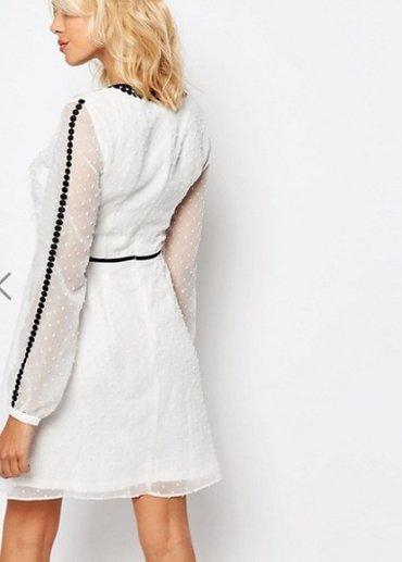 Шикарные платья asos!! белое с тесемками, в Бишкек