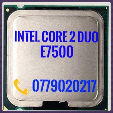 Intel® core™2 duo e7500  3 МБ кэш-памяти, в Бишкек