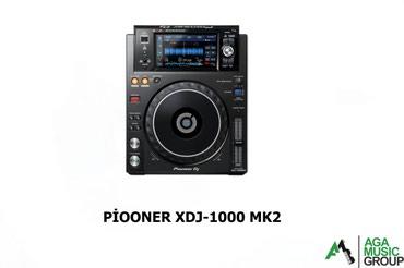Bakı şəhərində Pioneer XDJ-mk2 dj multi player aparatları Aga music group musiqi
