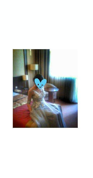 вечерние платья серого цвета в Кыргызстан: Платье вечернее ооочень красивое одевала 1 раз на свадьбу, после был
