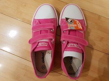 Dečije Cipele i Čizme | Zlatibor: Potpuno nove Ciciban patike za devojčice, sa etiketom, broj 35