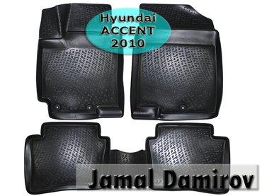Bakı şəhərində Hyundai accent 2010 üçün poliuretan ayaqaltilar aİleron.