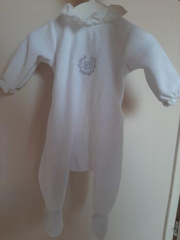 Plac - Srbija: Plišani zeka za bebe od mese dana (54cm)Jacadi Paris, nije korišćena