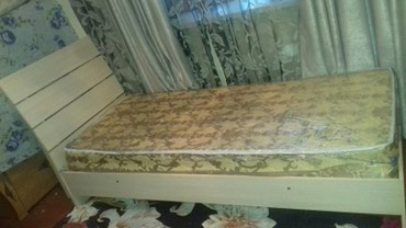 Кровать односпалка новая продаю срочно в связи выездом в Бишкек