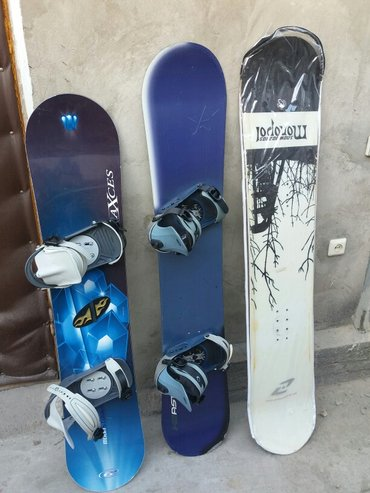 для любителей сноубординга, комплекты сноубордов, доски крепы б/у в хо в Бишкек