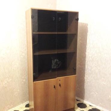 мойка-со-шкафом в Кыргызстан: Продается добротный шкаф со стеклянной витриной. Можно в дом, можно в