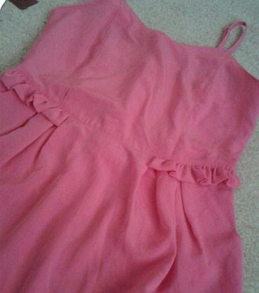 Roze letnja haljinice, obucena jednom.. Odgovara veličini m-l - Beograd - slika 3