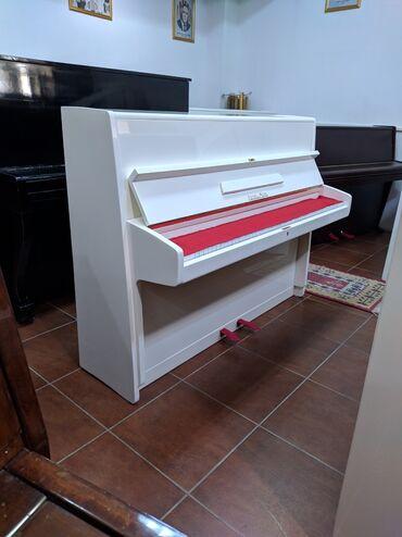 17 elan | İDMAN VƏ HOBBI: Almaniya istehsali balaca həcmli fil dişi rənq fortepiano