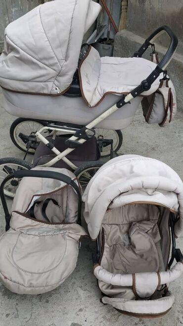 Детский мир - Каракол: Немецкая коляска тройка в хорошем состоянии