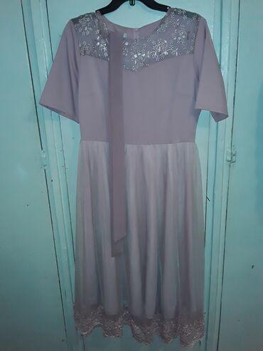 вечернее платье 48 50 размер в Кыргызстан: Платье, почти новое . ни разу не одела. размер 48,,50 . продаю за