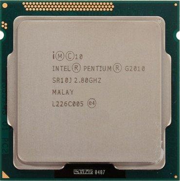 Продаю процессор Intel® Pentium® G2010 (3M Cache, 2.80 GHz) сокет в Бишкек
