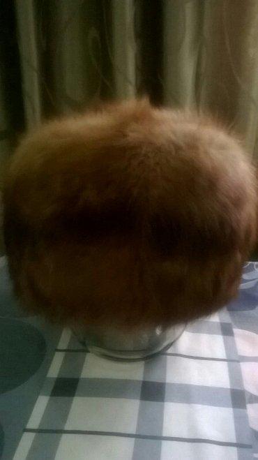 Шапка соболья размер 57, шапка норковая в Бишкек