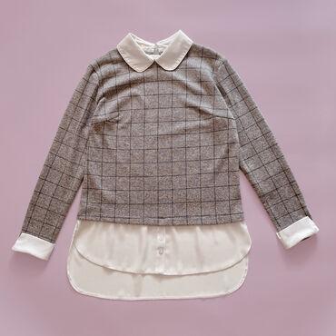 Кофта-рубашка (обманка под двойку) Надевалась пару разЖенская