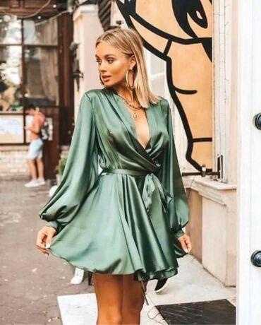 Dresovi - Srbija: Prelepa haljina od satena po hit ceni od 1.490 din