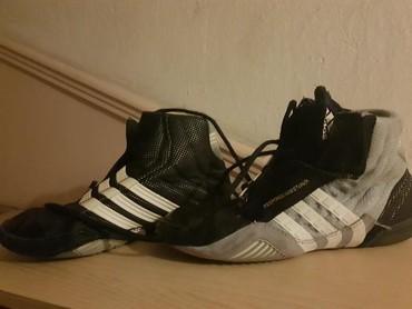 Παπούτσια πάλης,  Adidas, 39 νούμερο, φορεμένα ελάχιστες φορές σε Thessaloniki