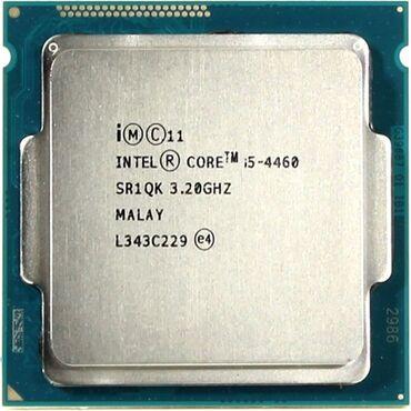 Prosessorlar - Azərbaycan: Core i5 4460 cpuCore i5 4460 3.2 ghz cpu (prosessor) satiramIslek
