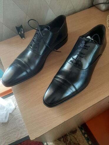 Туфли кожаные из Италии ( реально из Италии ). размер 44