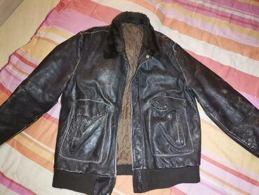 Muska kozna jakna XL uslikano sve