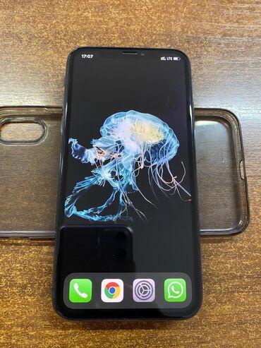 чехлы для гироскутера в Кыргызстан: Б/У iPhone Xs 64 ГБ Черный