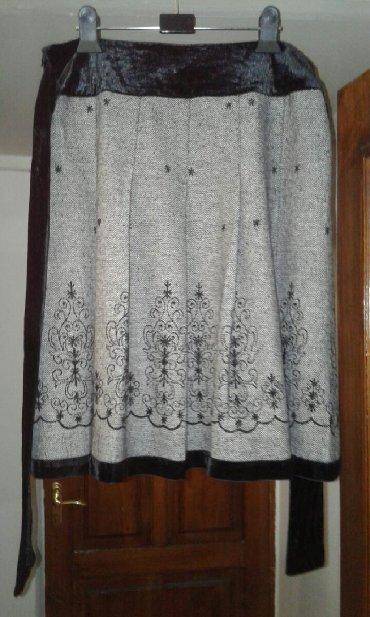 длинную юбку в Кыргызстан: Продаю очень красивую модную юбку Корея с велюровой отделкой. Ширина