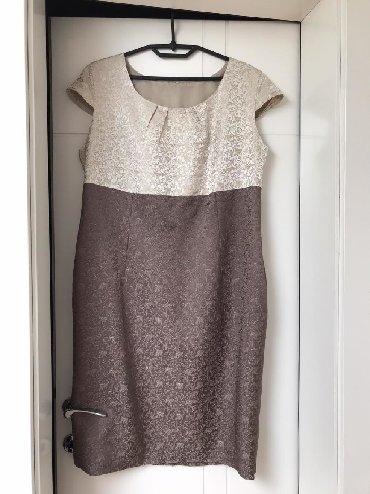Komplet haljina i sako, veličina 48. Nošeno samo jednom
