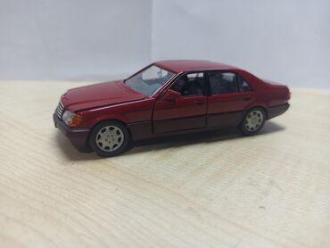 Искусство и коллекционирование - Кыргызстан: Продаю коллекционную модель MERCEDES W140 РАРИТЕТ в масштабе 1:43