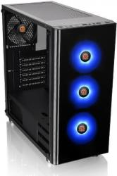 Case Thermaltake V200 Tempered Glass Edition Mid Tower Chassis/Black /