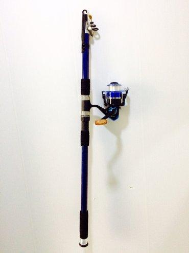 Bakı şəhərində Spining tilov baliqtutan - telecarp -3. 30 ve 3. 60 metr uzunluqda.