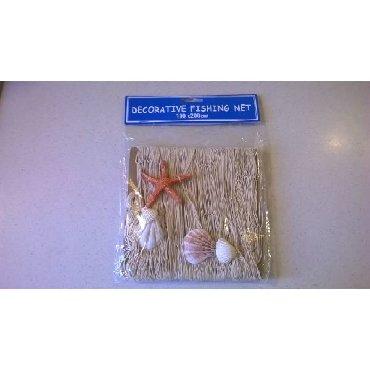 Διακοσμητικό δίχτυ κοχύλια - 200 x 100 cm  Καινούργιο