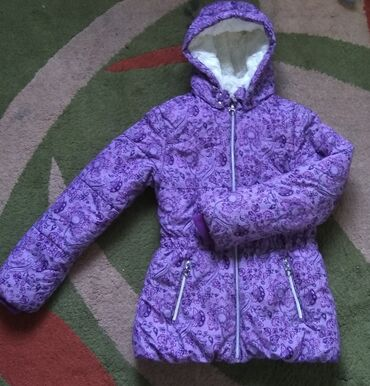 Зимняя куртка на девочку 11 лет (Sela) Очень теплая