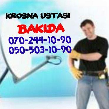 Bakı şəhərində Krosna Peyk antena Atv+ ustası avadanligi atvplus satilir ve