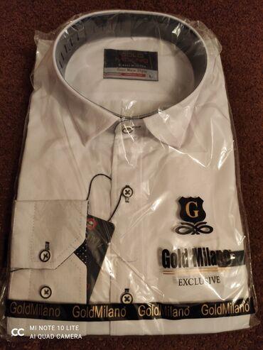 Новая белая рубашка, производство Турция