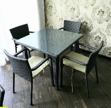 kafe ucun stol stul - Azərbaycan: Bağ üçün stol stul dest