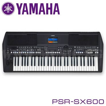 Синтезатор Yamaha PSR-SX600  Премиальная цифровая рабочая станция зада