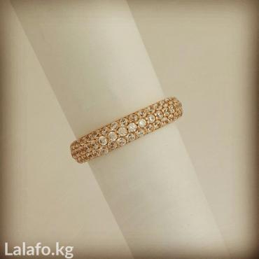 Золотое кольцо с росыптью камней. в Бишкек